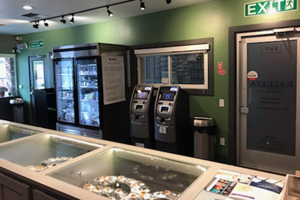 cannabis dispensary ATMs