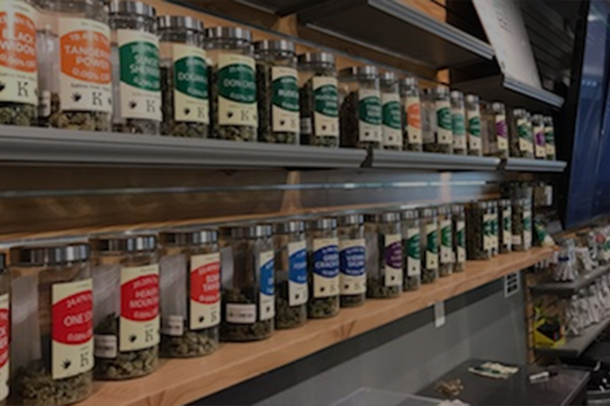 hybrid indica sativa jars of our top and mid shelf cannabis