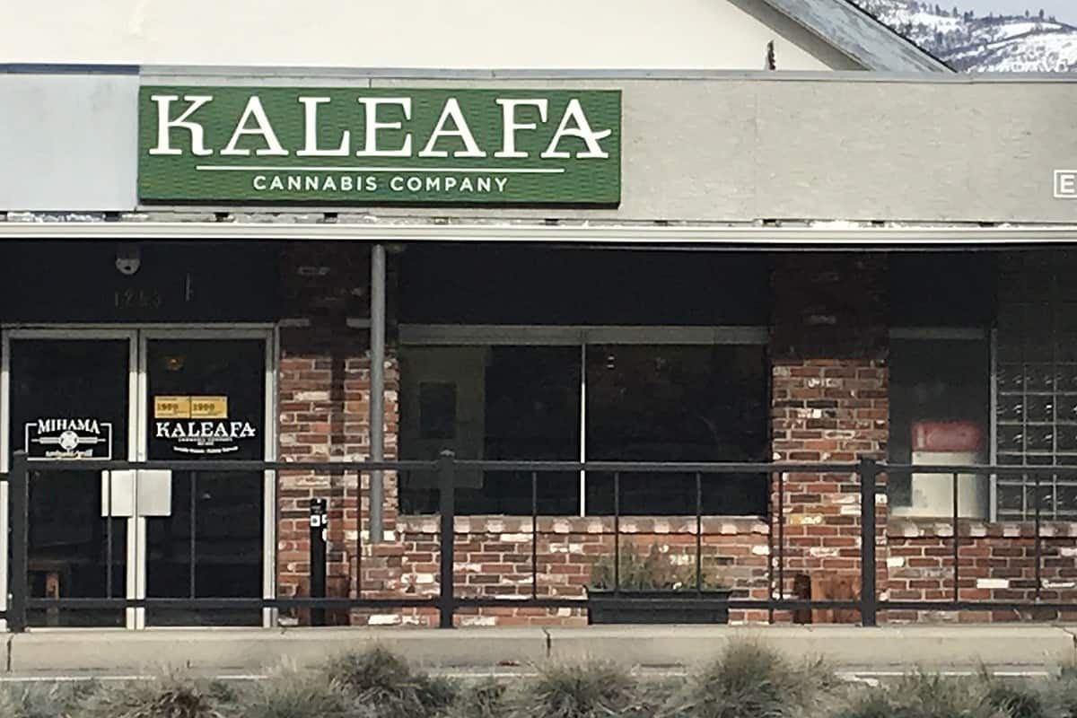 Kaleafa Cannabis dispensary location in Ashland Oregon